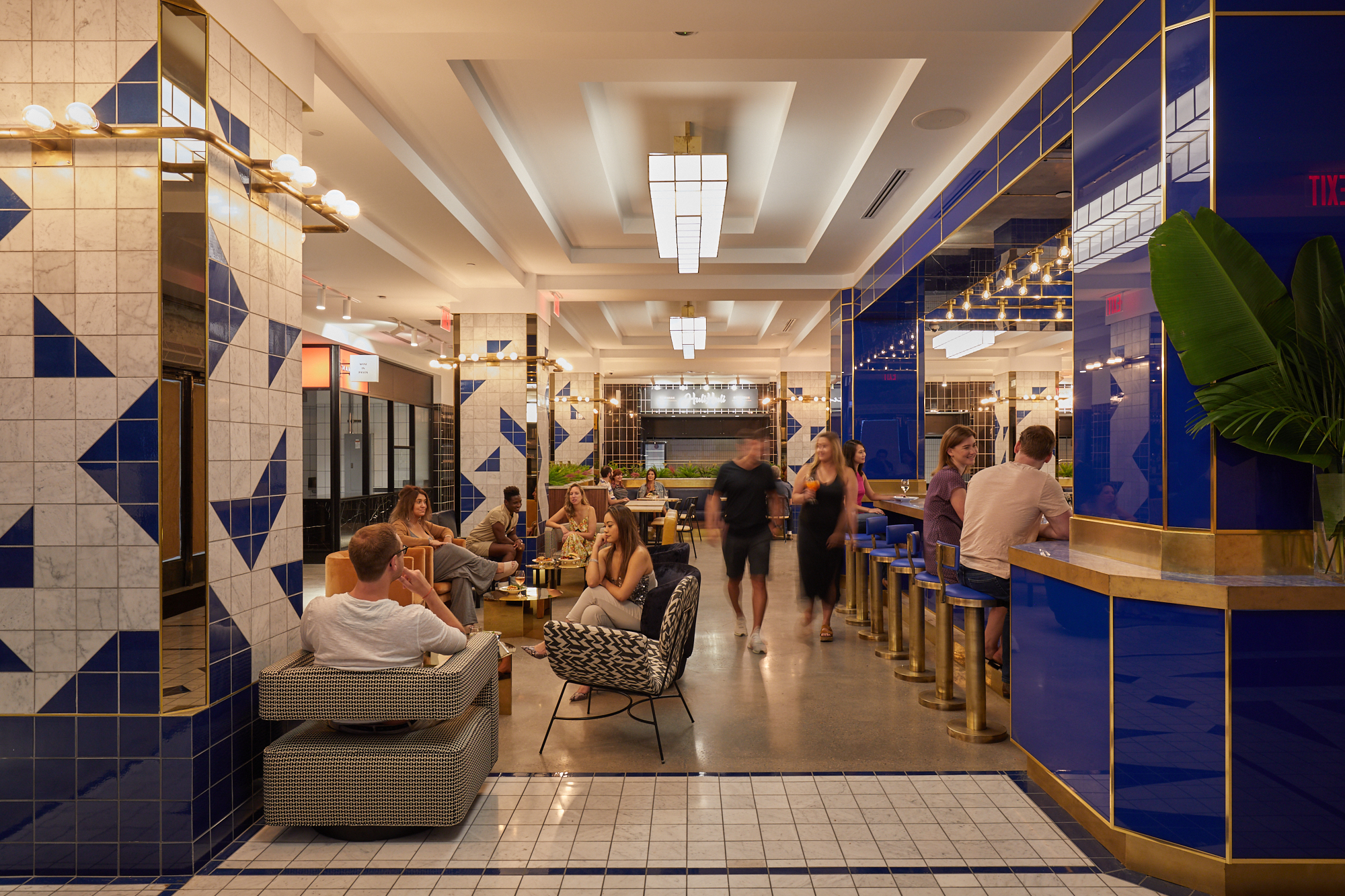 See inside The Deco, an eclectic new food hall in Midtown West  19sqft