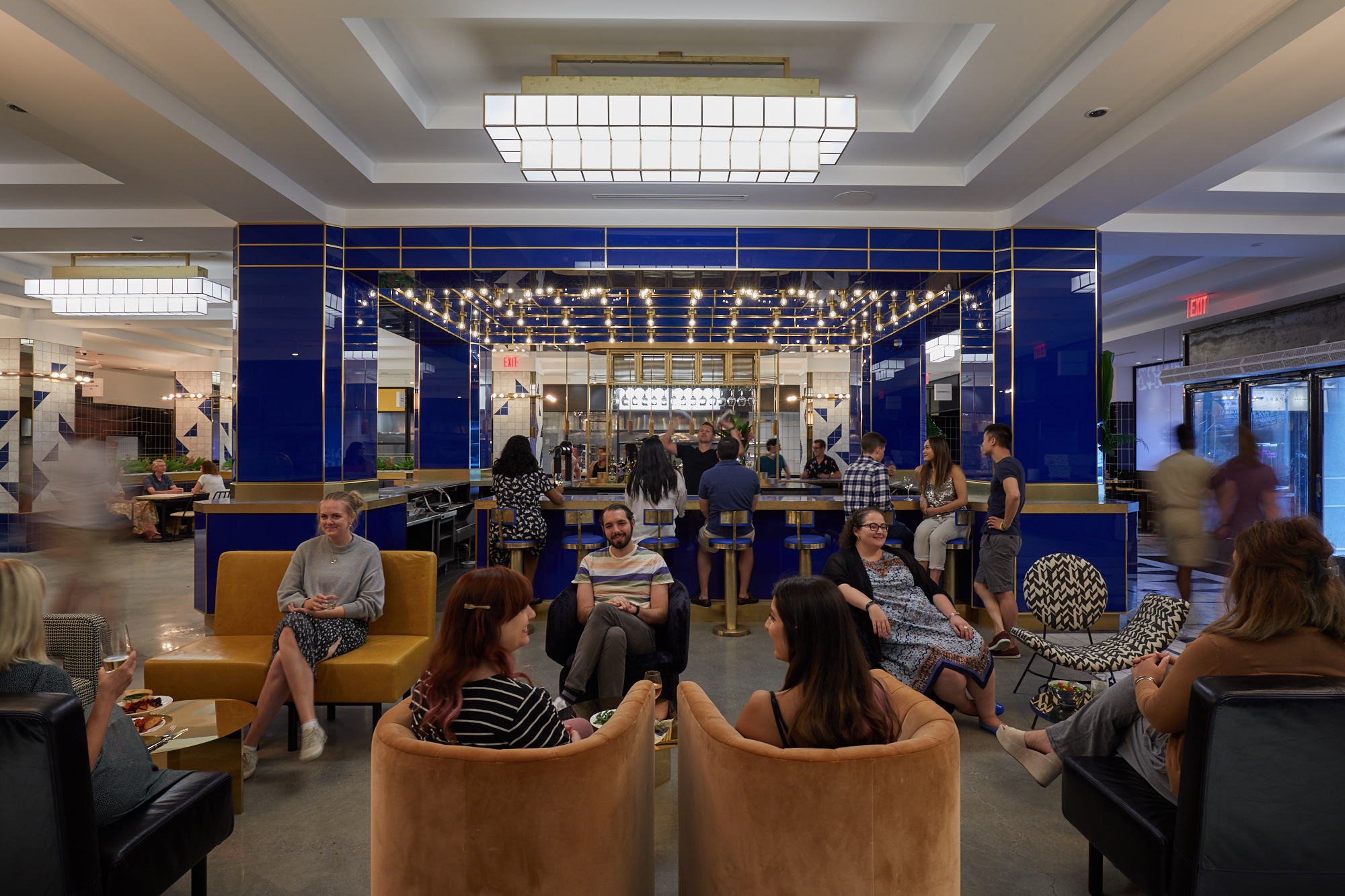 Deco Design New York see inside the deco, an eclectic new food hall in midtown