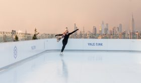 The William Vale, Vale Rink, rooftop ice skating