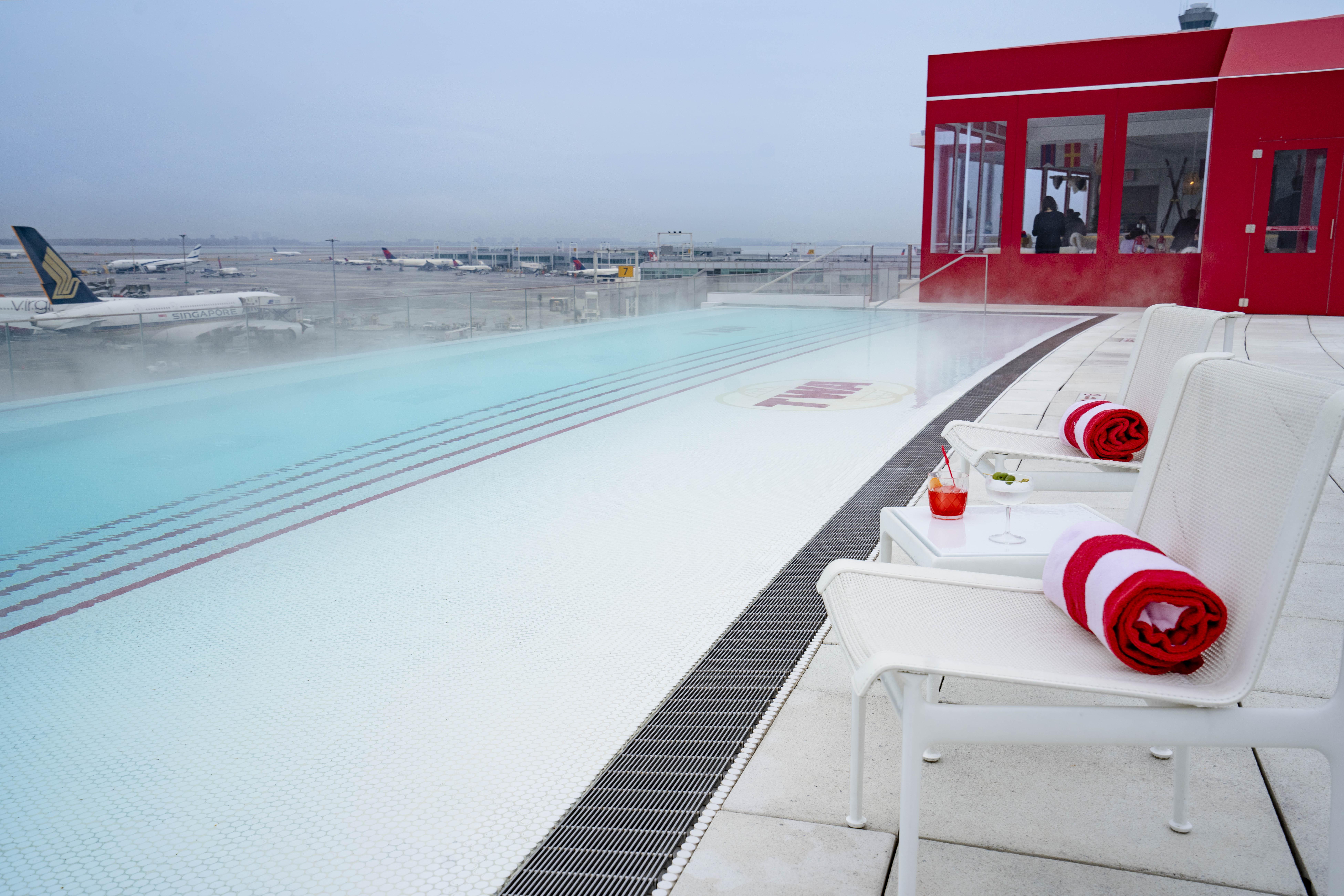 TWA Hotel, runway chalet, gerber group, eero saarinen, hotels