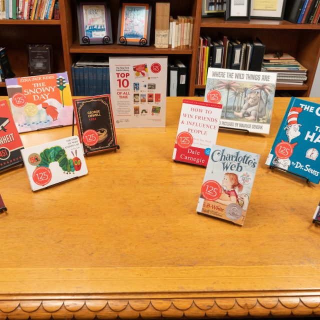 To mark 125th anniversary, NYPL releases list of kids books to spark lifelong love of reading