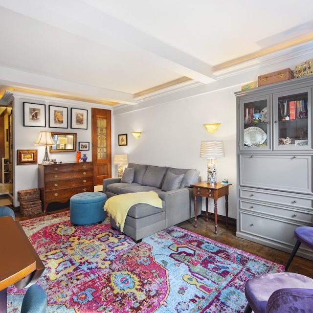 For $520K, this customized Murray Hill studio has a sleeping alcove, built-ins, and plenty of personality