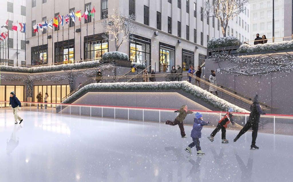 See the proposed revamp for Rockefeller Center   6sqft