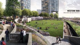 high line, western yard, related companies, hudson yards wall, major developments