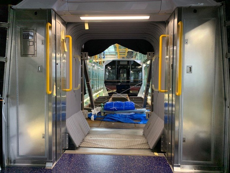 MTA unveils first look at new open-gangway subway cars