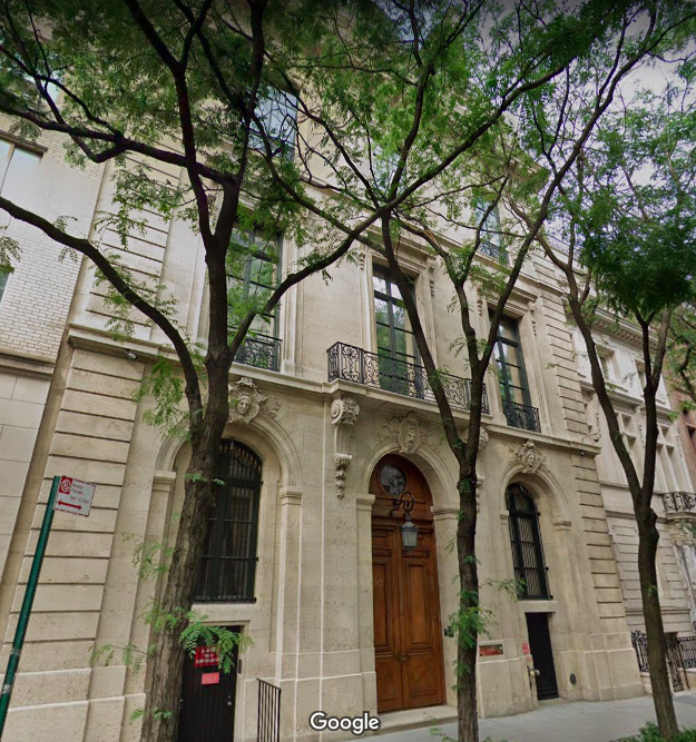 9 East 71st Street, Jeffrey Epstein, Frick Collection, Upper East Side