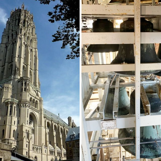 Go behind the scenes at Morningside Heights' Riverside Church and its 400-foot-tall bell tower