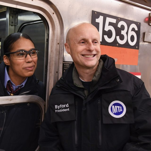 After Andy Byford resigns as transit chief, New Yorkers lament the loss of 'Train Daddy'