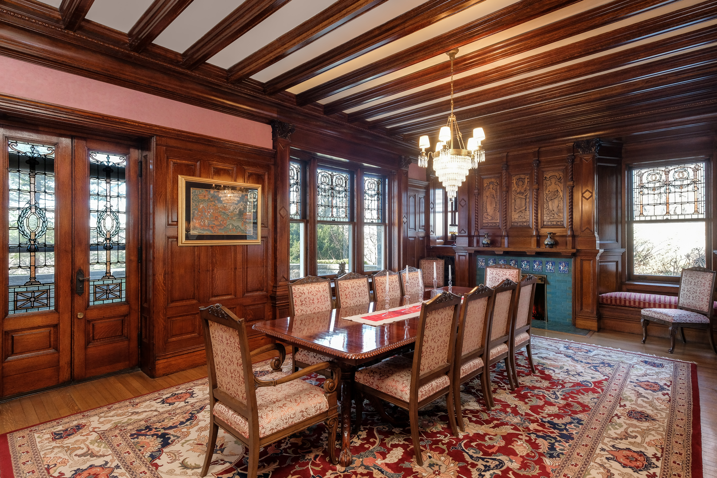 50 crows nest road, cool listings, westchester, bronxville, mansions, gothic revival