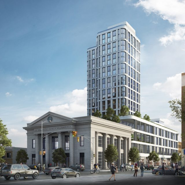 Williamsburg's Dime Savings Bank opens affordable housing lottery, from $2,116/month