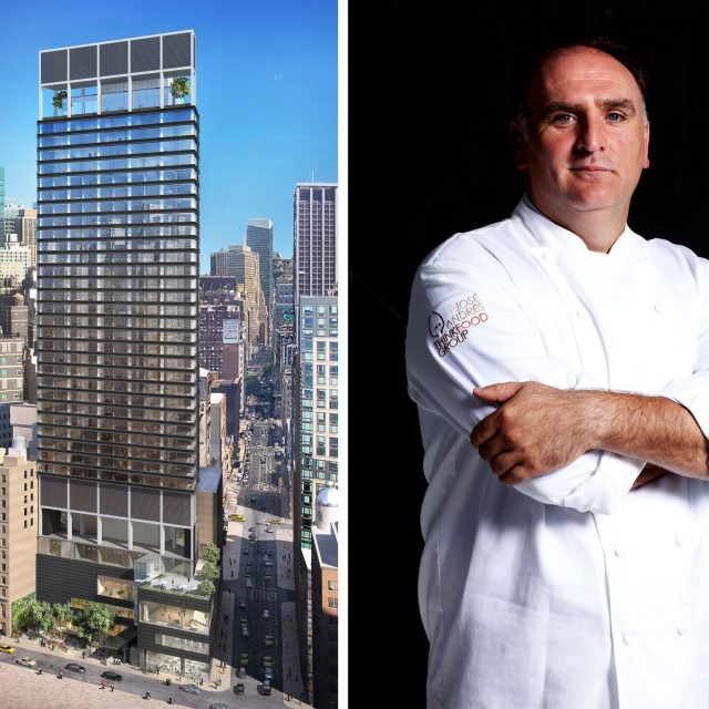 Chef José Andrés will open two new restaurants at the forthcoming Ritz-Carlton in Nomad