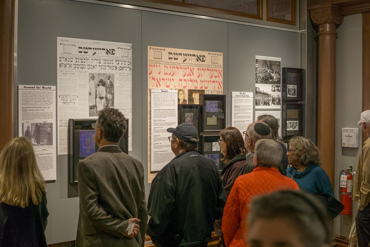 daily forward, museum at eldridge street, lower east side, jewish culture, history, newspapers, media, museums