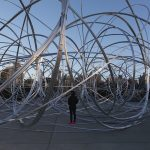 Connect BTS, Antony Gormley, New York Clearing, public art, brooklyn bridge park