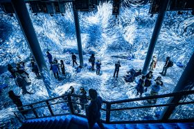 artechouse, submerge, art, chelsea, digital art, immersive art