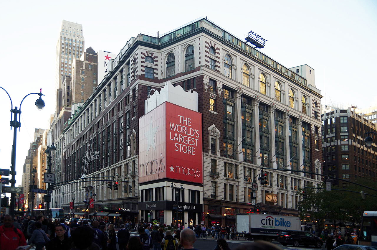 Macy's, herald square, midtown
