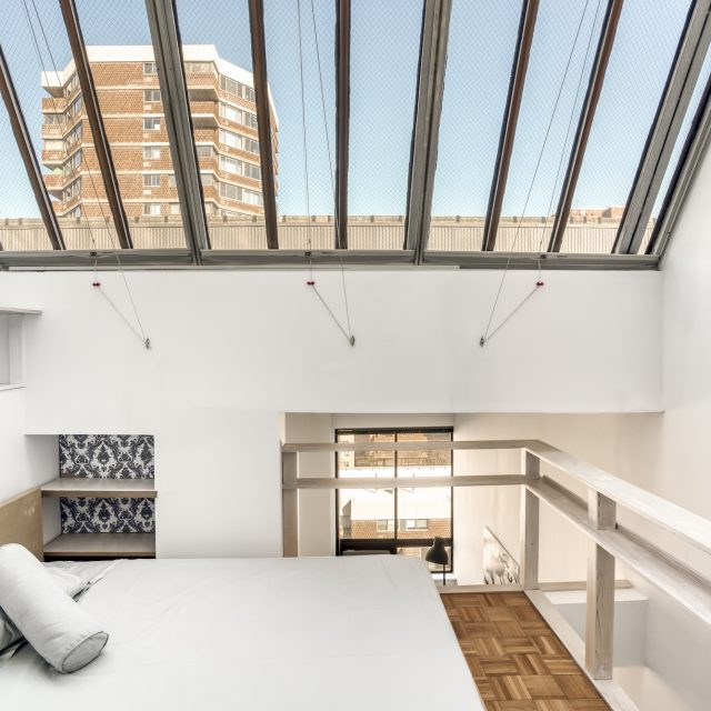 Petite penthouse in Gramercy has a massive skylight and Empire State Building views for $698K