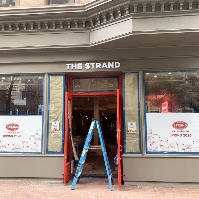 The Strand will open on the Upper West Side this month
