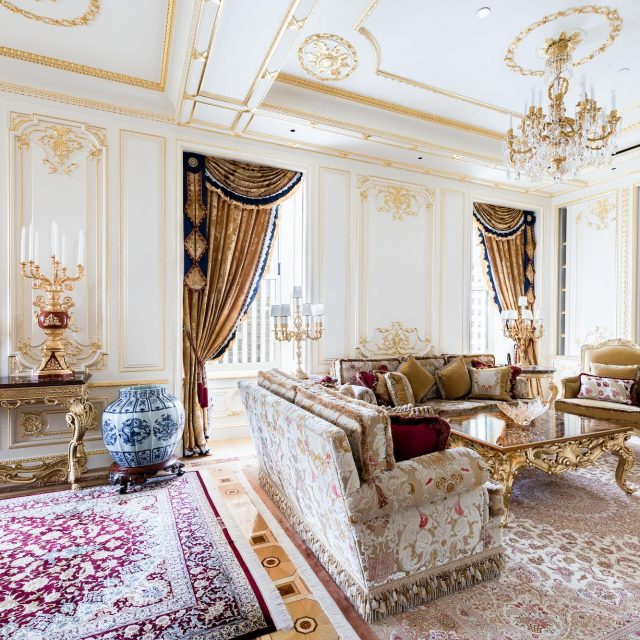 Wealthy Russian family lists gilded Plaza apartment full of onyx and crystal for $45M