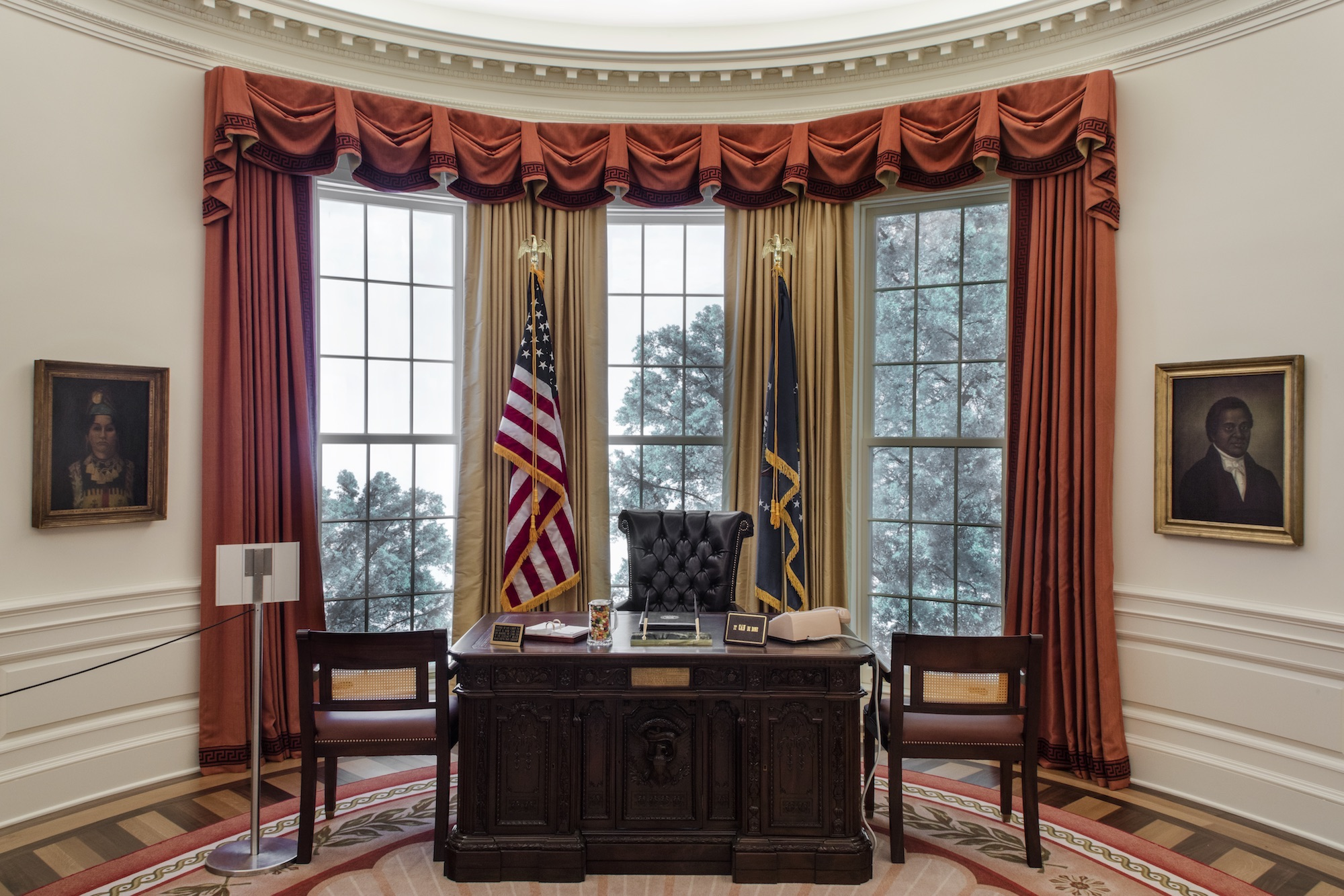 Oval Office replica opens at the New-York Historical ...