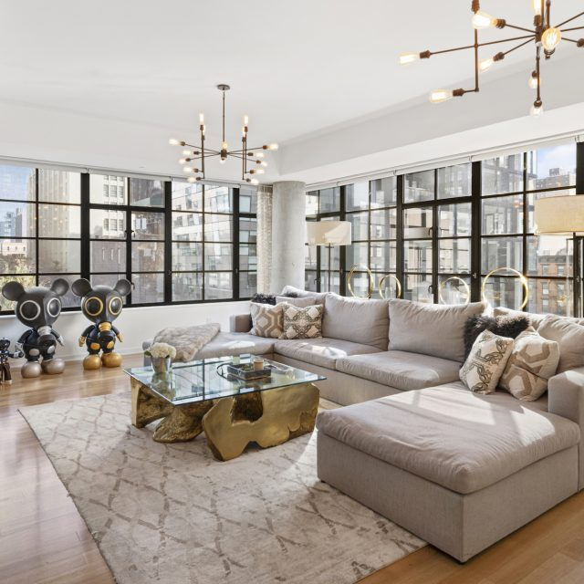 Carmelo Anthony lists his massive Chelsea condo with High Line views for $12.85M