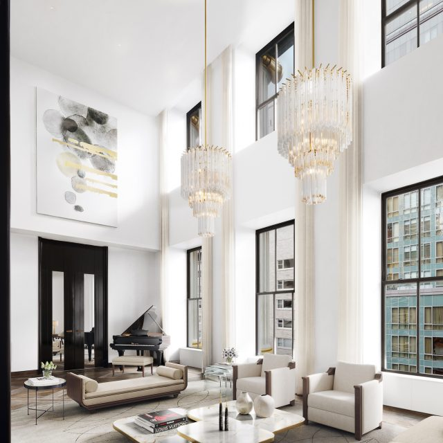 See more of the historic residences inside 111 West 57th Street's landmarked Steinway Building