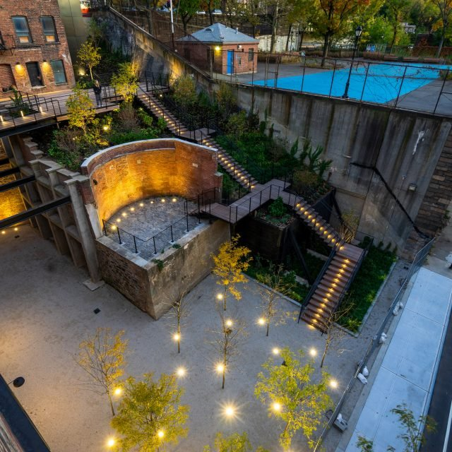 Public gardens revealed at former Jehovah's Witnesses HQ in Brooklyn Heights