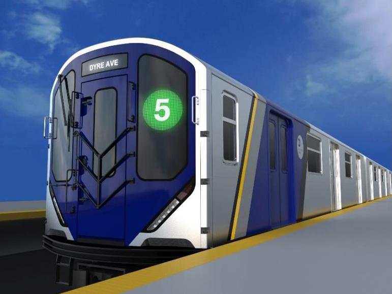 nyc subway, mta, new subway cars, R262