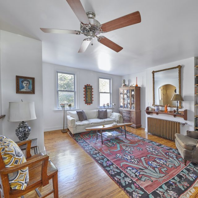 Consider this $1.4M Windsor Terrace townhouse a condo alternative with a garden and parking