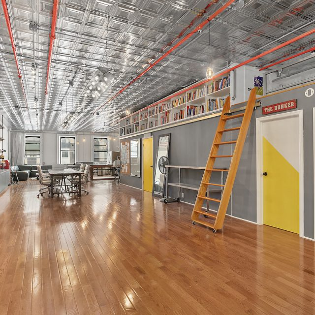 Live the Soho life in a former photographer's live/work loft for $6.5K a month