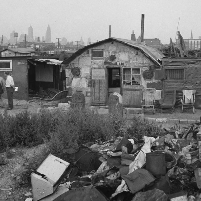 Looking back at the Depression-era shanty towns in New York City parks