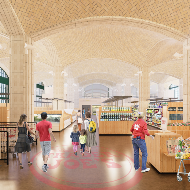 See the approved plans for Trader Joe's new Upper East Side store under the Queensboro Bridge