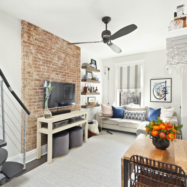 Before + After: How an Upper West Side couple renovated their 440sqft studio after a building fire