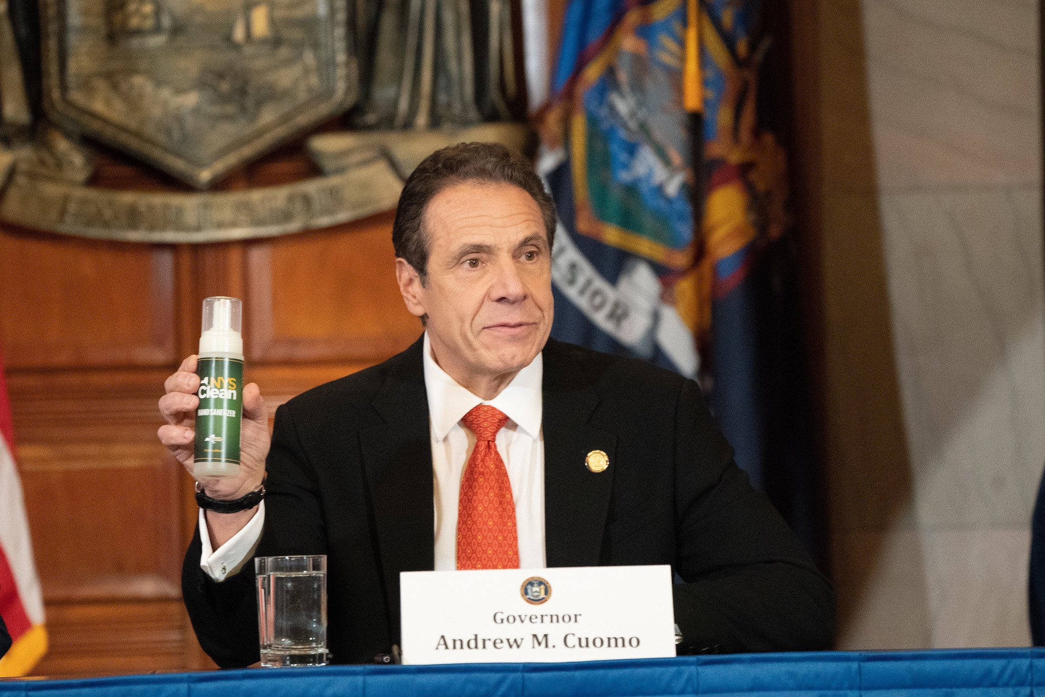 New York State Clean, New York Hand Sanitizer, Cuomo hand sanitizer