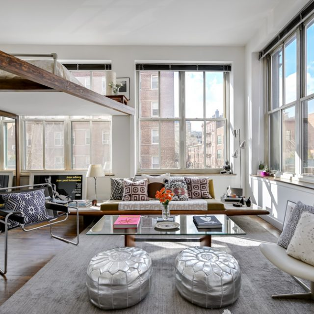 19 windows and a bohemian vibe make this $1.8M West Village loft a keeper