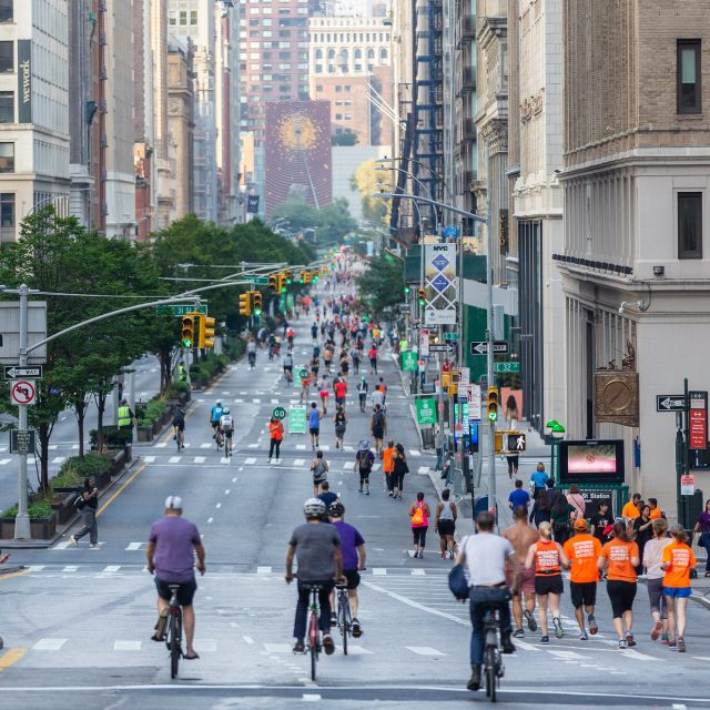 De Blasio's open street pilot gets extended through Sunday