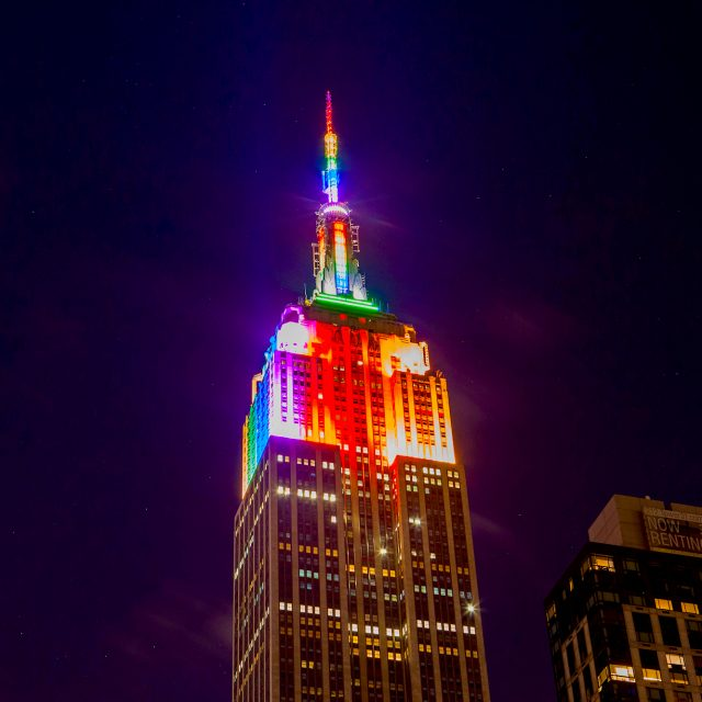 A nightly music-to-light show launches at the Empire State Building to keep NYC bright