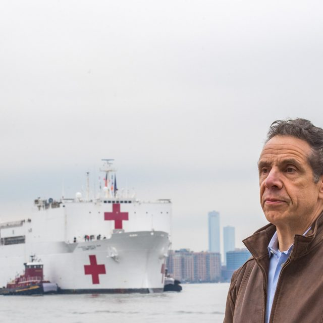 To relieve NYC hospitals, Cuomo requests that USNS Comfort hospital ship become COVID center