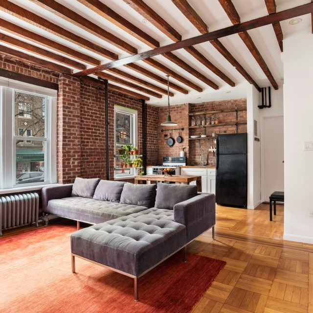 Rustic Sunset Park one-bedroom is just right for $420,000