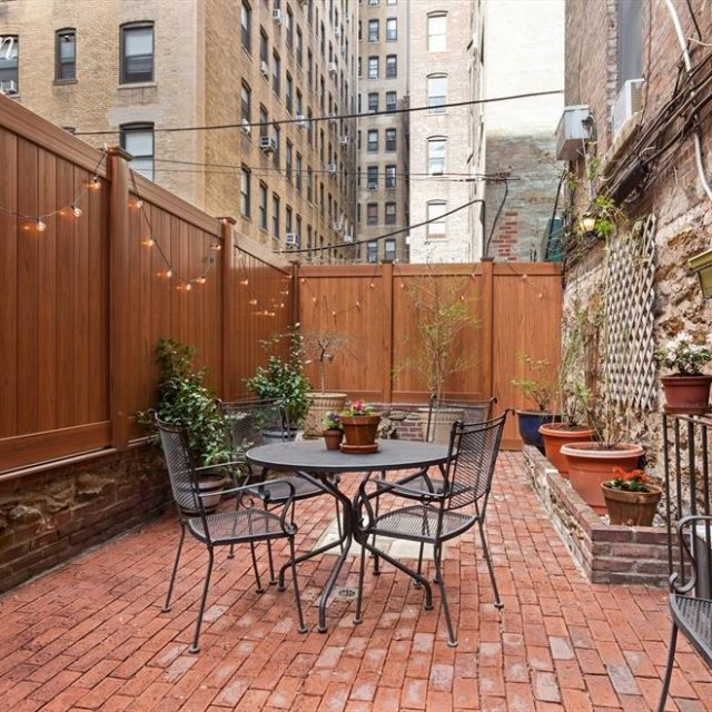 $1.35M Upper West Side co-op has two floors and a sunny private garden
