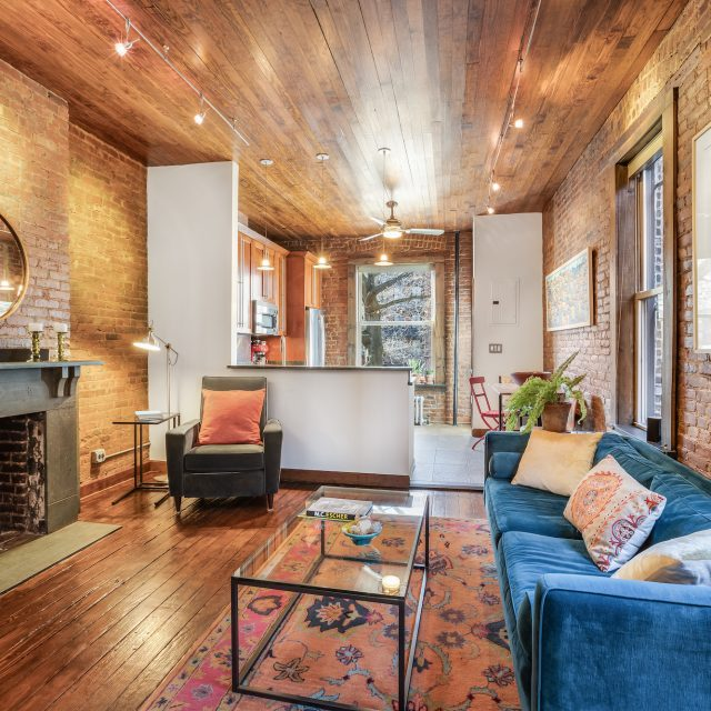 $1.67M duplex is a woodsy escape in Brooklyn Heights