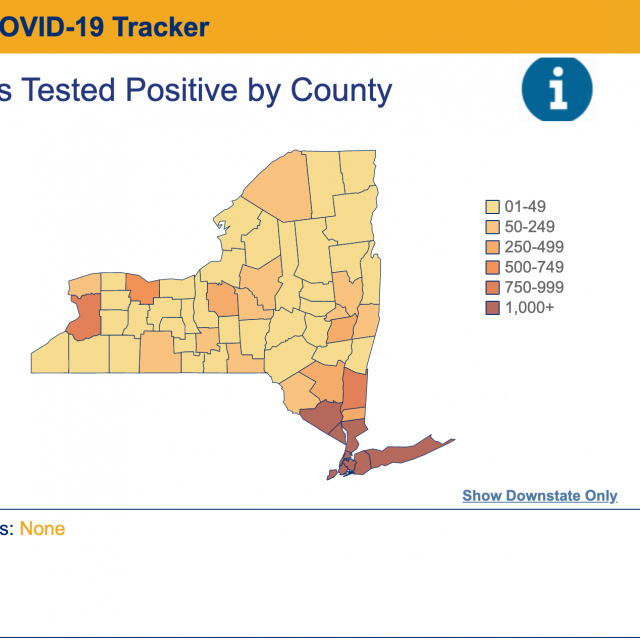 New York State launches daily COVID-19 tracker