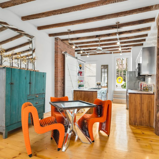 Cat Greenleaf lists her famous 'Talk Stoop' townhouse in Cobble Hill for $3M