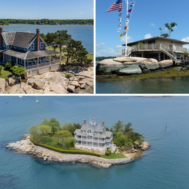 Own three private islands off the Connecticut coast for $5.3M