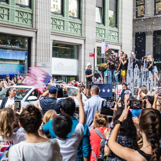 NYC announces July 7th ticker-tape parade to honor Covid heroes