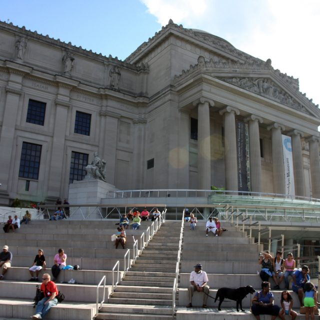 The Brooklyn Museum transforms into a pop-up food bank this week