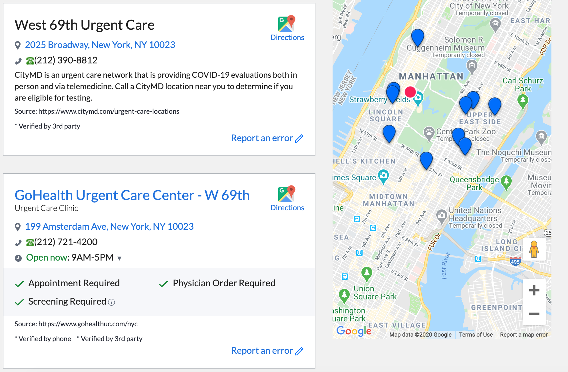 New York Launches Interactive Map To Find Covid Testing Sites Near You 6sqft