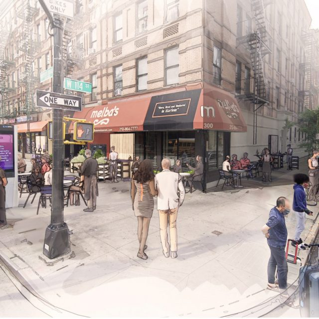 David Rockwell designs template for outdoor dining in NYC