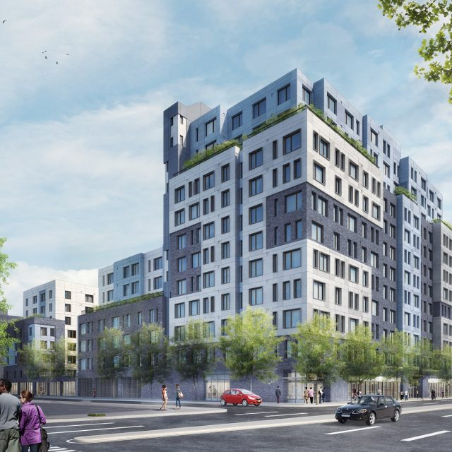 206 affordable apartments available at mixed-used development in East New York, from $375/month
