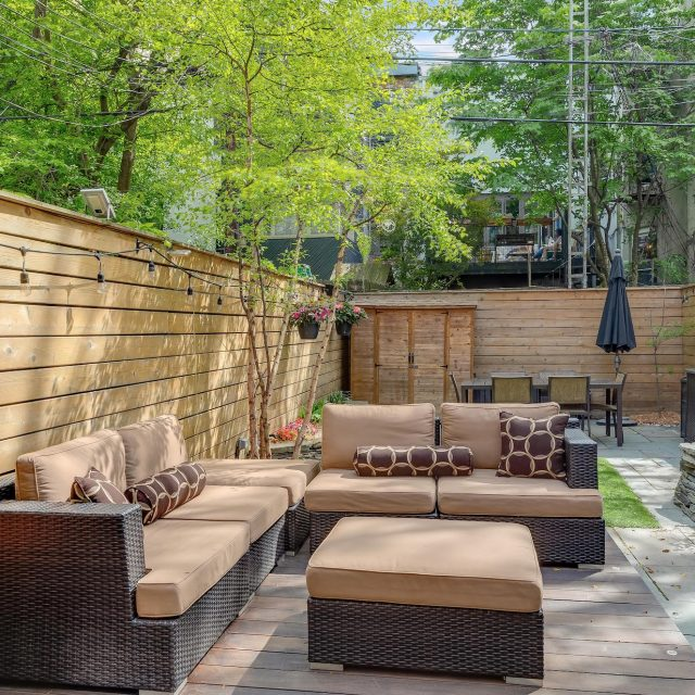 $2.3M Park Slope rowhouse has tranquil interiors and a party-ready backyard