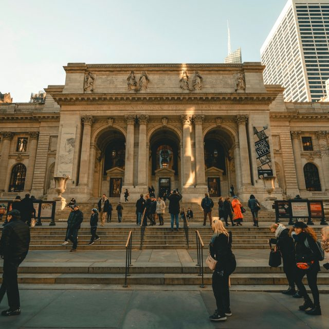 New York Public Library considering curbside pickup service